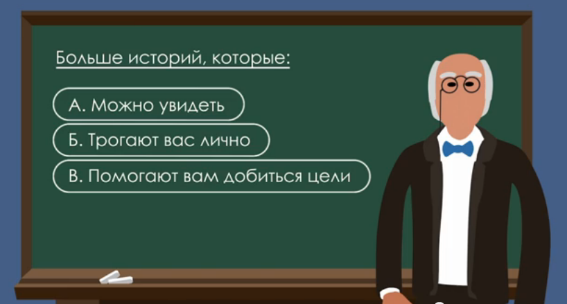история сторителлинг - 3 принципа