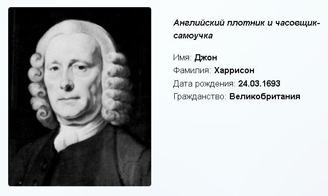 Джон Харрисон